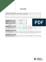 Taller Identificacion, Evaluacion y Ambientales.