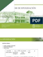 Reactor Epoxidación