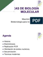 2 - Técnicas de Biología Molecular