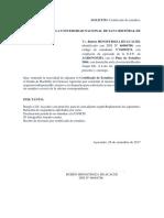 5.Solicitud de Certificado de Estudio