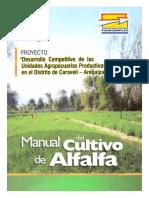 Manual Del Cultivo de Alfalfa