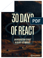 30 Days of React