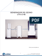 Manual Operación Y Mantenimiento - Ozonizador