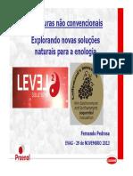Leveduras Não Convencionais_ Explorando Novas Soluções Natuais Para a Enologia - Fernando Pedrosa (PROENOL)