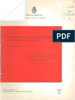 Juan Pedro Franze, La Mujer Argentina en La Musica