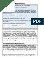 460 practicum daily reflective journal  1