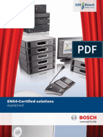 BOSCH EN54 Certification Booklet