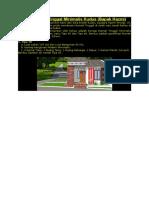 2Desain Rumah Tinggal Minimalis Kudus