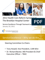 Service Excellence Through Teamwork and Collaboration PPT