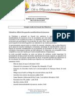 Compte Rendu Du Conseil Des Ministres Du 4 Avril 2018 (2)