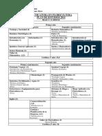 Floricultura Plan 2014-2015