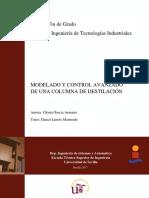 Modelado y Control Avanzado de Una Columna de Destilaciã_n