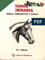 Anatomia Veterinaria Basica, Comparativa y Clinica