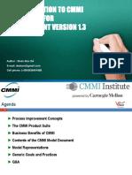CMMI Introduction 1.3