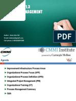 Processes Management CMMI V1.3