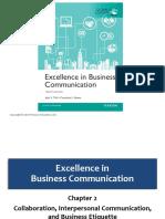 Week 3 - Chap 2-Collaboration, Interpersonal Communication and Business Etiquette Bovee_ebc12_inppt_02