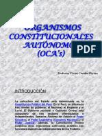 Organismos Constitucionales Autónomos Nuevo
