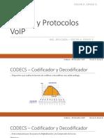 Codecs y Protocolos VoIP