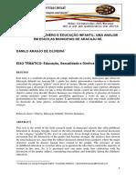 Relações de Gênero e Educação Infantil