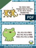 FICHAS TRABALENGUAS