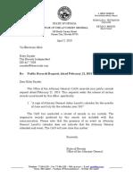 NPRA Response Letter