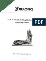 ECR Electronic Door Shutting Motor
