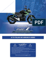 Manual de Moto 150sz