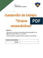 cuadernillo grupos consonanticos