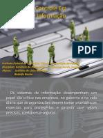 Segurança E Controle Em Sistemas de Informação