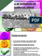 Recurso de Unificación de Jurisprudencia Laboral