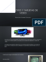 Monitores y Tarjetas de Video
