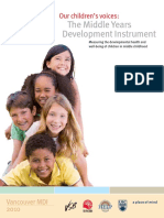 Mdi Our Childrens Voices Report