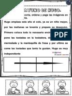 Lecturas Comprensivas y Secuencias Temporales PDF