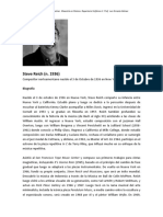 Steve Reich - Biografía y Palabras Sobre Su Obra (Ircam)