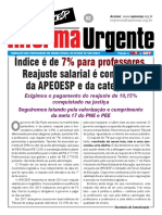 Apeoesp Informa Urgente 002