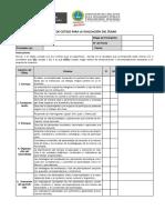 Lista de Cotejo Para La Evaluación Del Sílabo