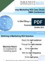 Disney Marketing Analytics Optimization