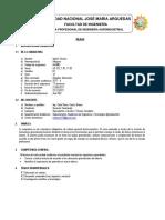Modelo Silabo 2017 II Final - Inglés Técnico