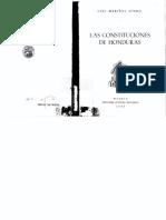 LAS CONSTITUCIONES DE HONDURAS-LUIS MARIÑAS.