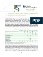 OECD Pension Policy Notes Colombia
