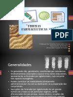 Formas Farmacêuticas Granulados e Comprimidos