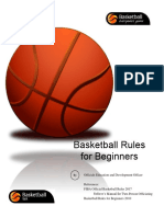 basketball beginner rulebook 2018