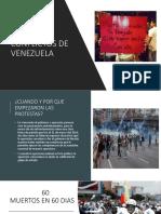 Los Conflictos de Venezuela