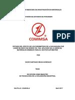 Estudio Del Efecto de Los Parametros de La Soldadura Por Laser Seminario Ii_2