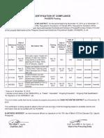 Certificate of PhilGEPS Posting