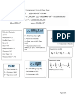 Fundamentals Exam 3 Cheat Sheet