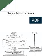 Review Reaktor Isotermal