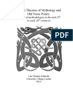 British Theories of Mythology and Old Norse Poetry