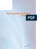 Coal Sampling and Analysis