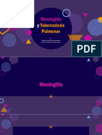 Meningitis y tuberculosis pulmonar